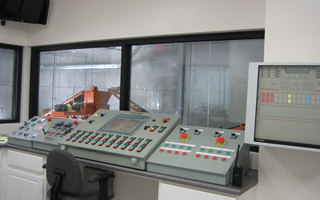 Tire Plant Control Room
